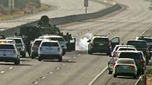 Raw Video: Police Standoff Forces Closure of Highway 101 in Santa Rosa [Video]