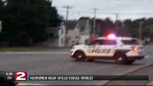 Herkimer high-speed chase arrest [Video]