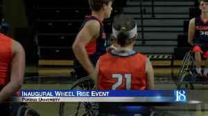 Inaugural Wheel Rise event held Saturday [Video]