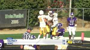 College Football: KWC Falls To Quincy [Video]