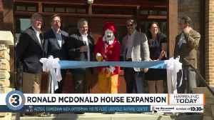 Ronald McDonald House expansion [Video]