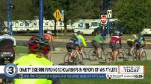 Charity bike ride funding scholarships in memory of VHS athlete [Video]