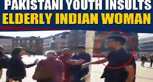 Pakistani youth insults elderly Indian woman in Birmingham, Video goes viral |OneIndia News [Video]