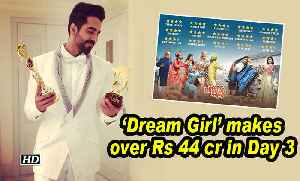 'Dream Girl' makes over Rs 44 cr in Day 3 [Video]