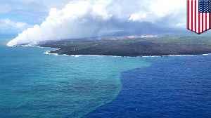 Massive algae bloom spurred by Kilauea volcanic eruption [Video]