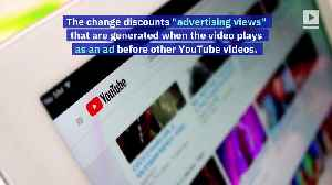 YouTube Will Change How it Counts Views for Popular Music [Video]