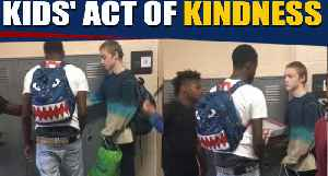 High school students gift new clothes to bullied classmate, video goes viral [Video]
