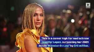 Jennifer Lopez Earns Career High With 'Hustlers' Debut [Video]