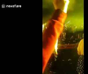 Old man spotted calmly dancing at rave during Dutch DJ's set at Creamfields festival [Video]