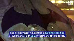 Bat-Signal to Shine in Major Cities on Batman Day [Video]