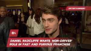 Daniel Radcliffe Has New Movie Desires [Video]