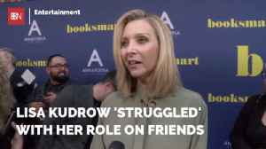 Lisa Kudrow Reveals Her Time With 'Friends' [Video]