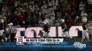 Arizona grinds out 28-14 win over Texas Tech [Video]