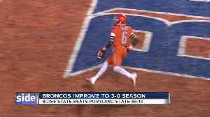 BSU improves to 3-0 on the season [Video]