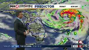 Hurricane Humberto Monday Morning Update [Video]