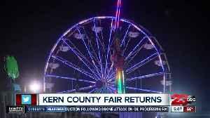 Kern County Fair returns this week [Video]
