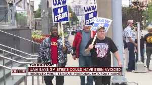 UAW says strike could have been avoided, claims GM's last-minute contract proposal came a 'little too late' [Video]