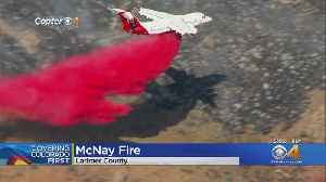 McNay Fire Forces Voluntary Evacuations Near Red Feather Lakes [Video]