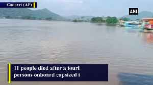 11 dead after boat capsizes in AP Godavari River rescue operation underway [Video]