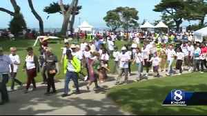 AIM for awareness walk and rally brings 350 people to Pacific Grove [Video]