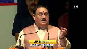 There will be delimitation before election in JK JP Nadda [Video]