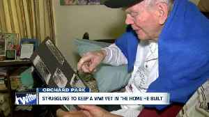 Struggling to keep a WWII Veteran in the home he built [Video]