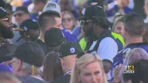 Ed Reed Surprises Ravens Fans At Tailgate [Video]