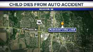 Child dies after struck by SUV [Video]
