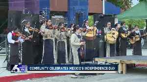 News video: Community celebrates Mexico's Independence Day