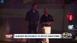 MCSO Sheriff responds to deputy-involved shooting [Video]