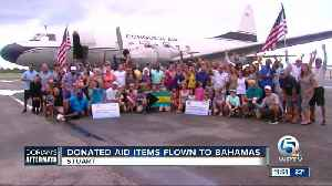 3 cargo planes loaded with supplies heads to Bahamas [Video]