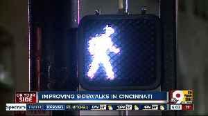 Plan to improve sidewalks in Cincinnati [Video]