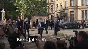 News video: Boris Johnson 'cautious' on Brexit progress as he meets European Commission President