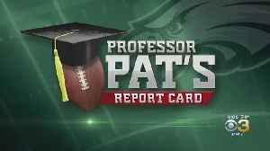 Professor Pat's Report Card: Eagles Vs. Falcons [Video]