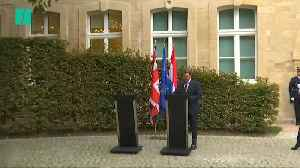 Boris Johnson Doesn't Attend News Conference After Meeting Luxembourg PM [Video]