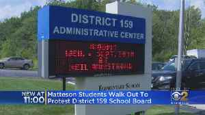 Matteson Students Walk Out Over Hiring Of Principal Barred From CPS Over Sexual Misconduct [Video]
