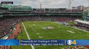 New 'Fenway Bowl' Game To Match Teams From ACC, AAC [Video]