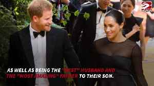 Duchess Meghan pays tribute to Prince Harry [Video]