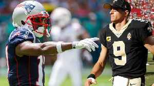 Drew Brees & Big Ben OUT With Injuries, Antonio Brown Makes Pats Debut & Is ALREADY Facing New Fine [Video]