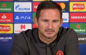 Lampard proud to lead Chelsea in UCL [Video]