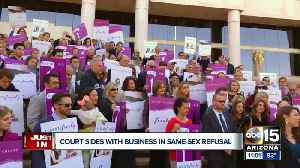 Arizona Supreme Court makes decision in case of same-sex business refusal [Video]