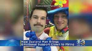 Man Brings Emotional Support Clown To Termination Meeting [Video]