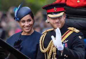 News video: Duchess Meghan Pays Tribute to Prince Harry