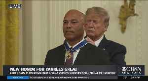 Mariano Rivera Awarded Presidential Medal Of Freedom [Video]