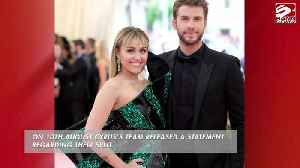 Liam Hemsworth reportedly learned of Miley split on social media [Video]