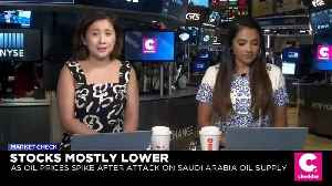 Oil Prices Spike as U.S. Blames Iran for Drone Attack on Saudi Arabia [Video]