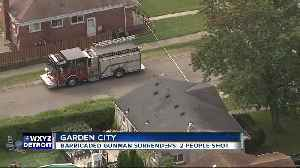 Garden City police respond to report of barricaded gunman, say situation is resolved [Video]