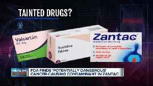 News video: Ask Dr. Nandi: FDA finds 'potentially dangerous' cancer-causing contaminant in Zantac, related drugs