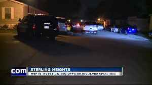 Sterling Heights Police investigating officer-involved shooting [Video]