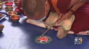 Monks From India Taking Up Residency At Bucks County Community College To Make Sand Mandala [Video]